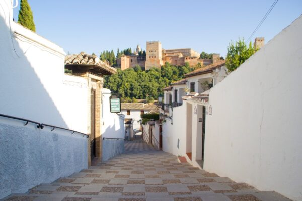Albaicin à Grenade en Espagne
