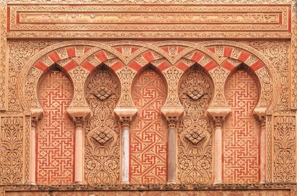 Détails sur le mezquita de Cordoue en Espagne