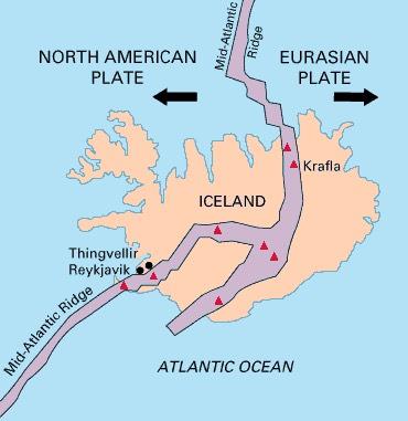 Faille de Silfra en Islande