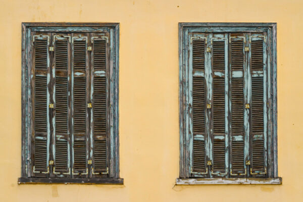 Maison typique dans le quartier de Thissio à Athènes