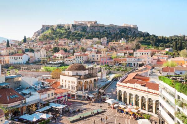 Monastiraki à Athènes