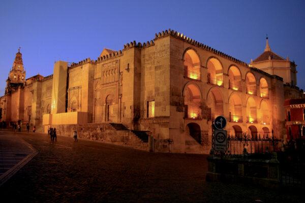Mezquita de Cordoba en soirée