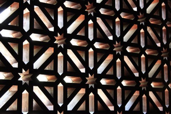 Ouvertures lumineuses de la mosquée