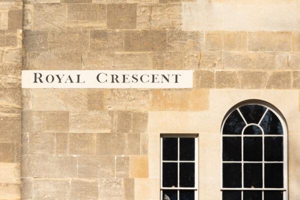 Royal Crescent à Bath