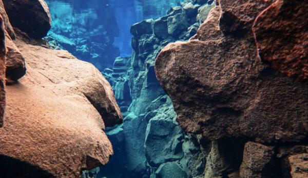 Snorkeling à Silfra en Islande