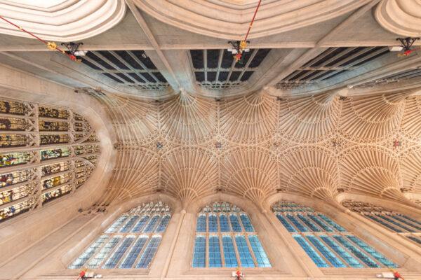 Voute de l'abbaye de Bath