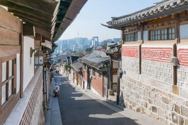 Bukchon Hanok Village à Séoul