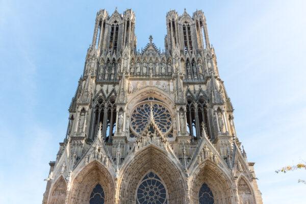 Façade de la cathédrale de Reims