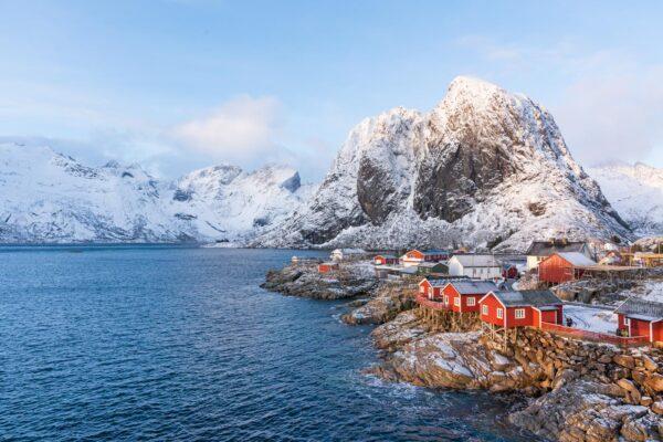 Hamnøy dans les îles Lofoten en Norvège