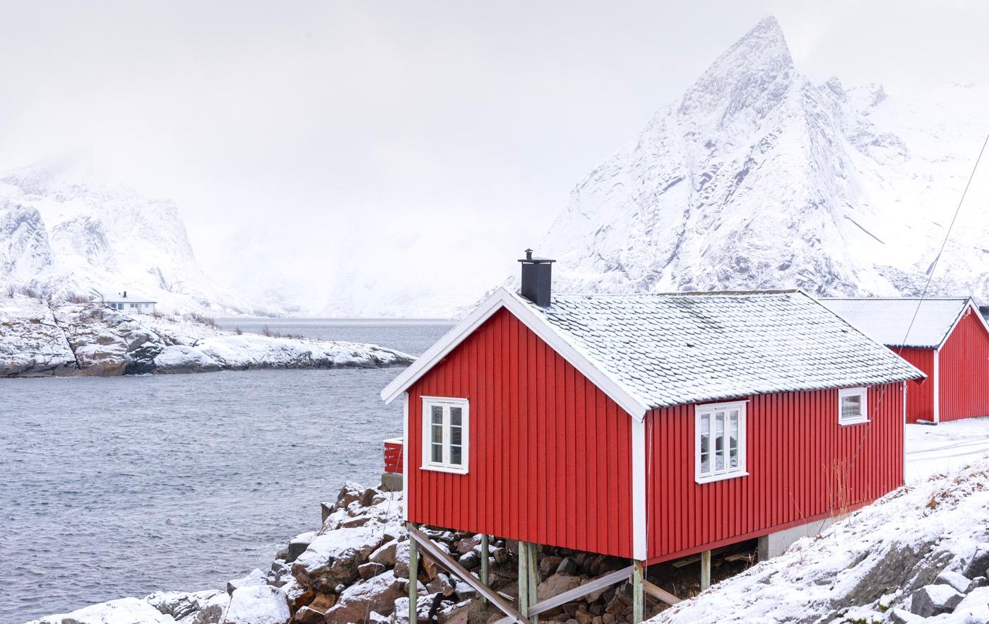 Hébergement aux Lofoten en Norvège