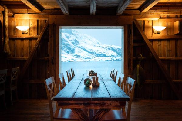 Logement dans les îles Lofoten en Norvège