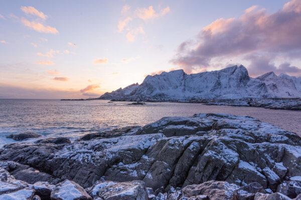 Sud des Lofoten en Norvège