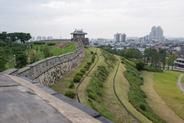 Suwon, ville proche de Séoul