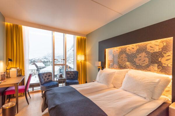 Thon Hotel à Svolvaer aux Lofoten