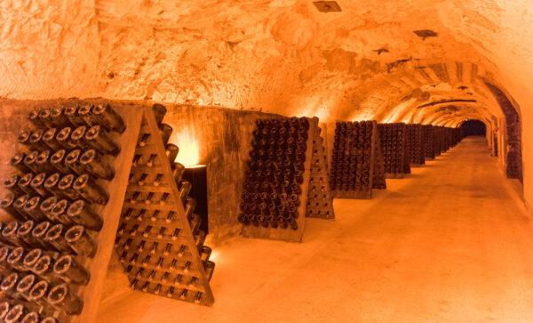 Visite des caves Moët et Chandon