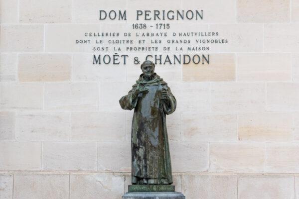 Visite de Moët & Chandon à Epernay