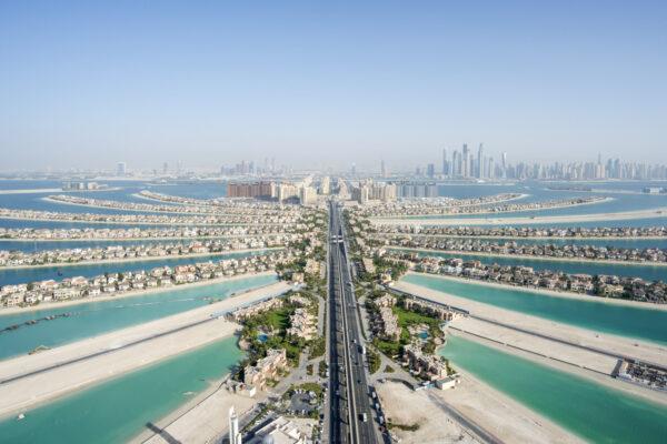 Itinéraire de survol de Dubaï en hélicoptère