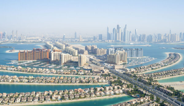 Vol en hélico au dessus de Dubai
