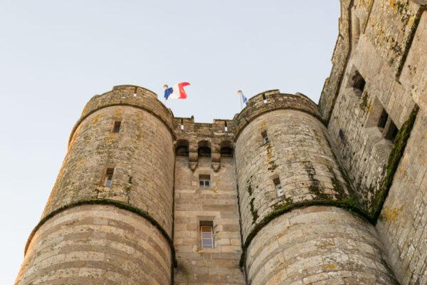 L'abbaye du Mont Saint-Michel, une abbaye forteresse