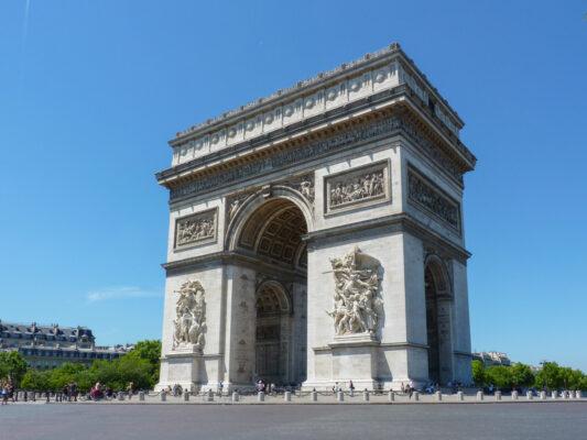 Arc de Triomphe sur les Champs Elysées