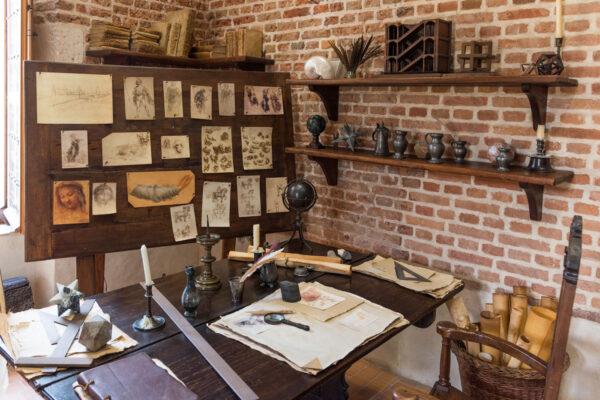 Atelier de Léonard de Vinci à Amboise