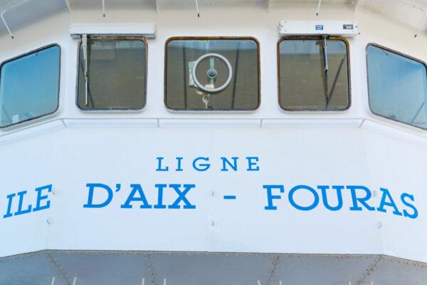 Bateau pour excursion à l'île d'Aix depuis La Rochelle