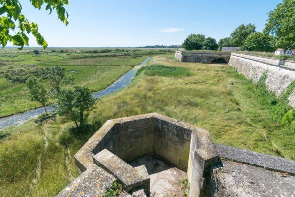 Citadelle de Brouage dans la région de La Rochelle