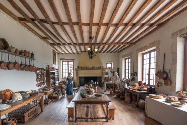 Cuisine du château de Meung-sur-Loire