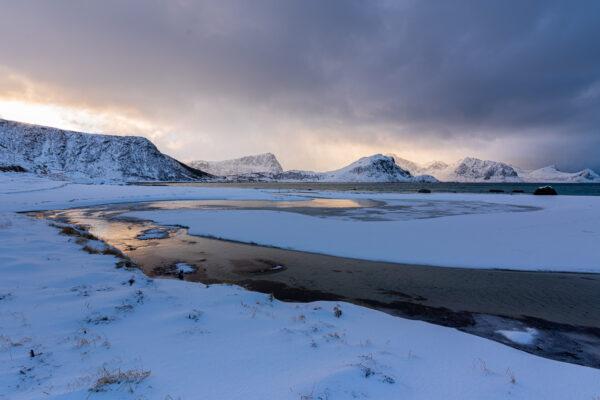 Durée des journées dans les îles Lofoten