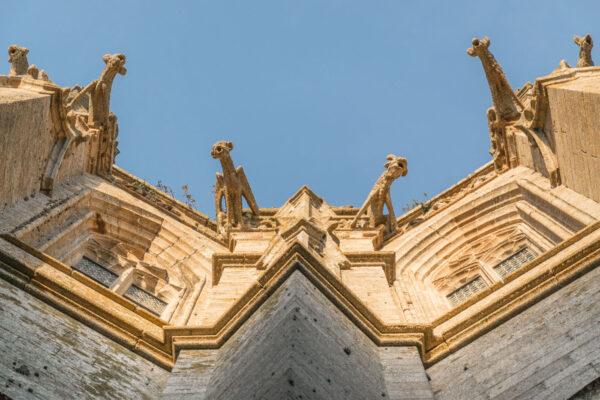 Façade de l'abbaye du Mont Saint-Michel