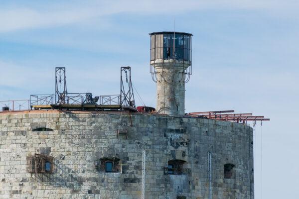 Fort Boyard depuis La Rochelle