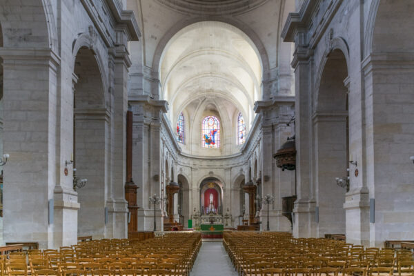 Intérieur de la cathédrale Saint-Louis