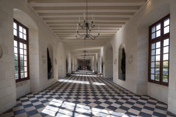 Intérieur du château de Chenonceau