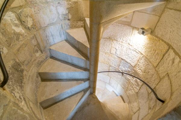 Intérieur des tours de La Rochelle