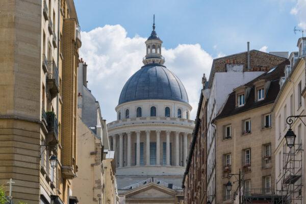 Panthéon dans le quartier latin