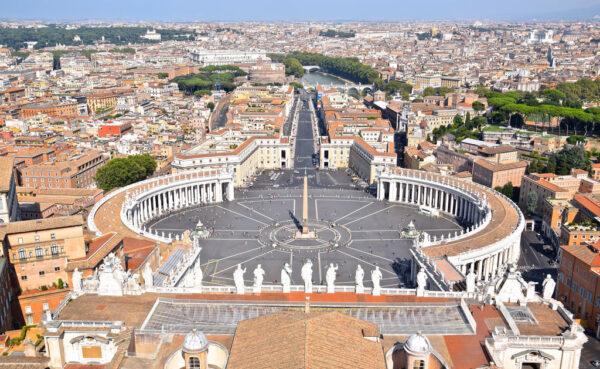 Partir à Rome pour visiter le Vatican