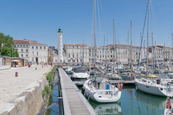 Quai du Vieux-Port de La Rochelle