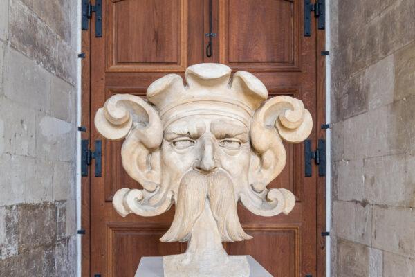 Sculpture dans le château de Blois