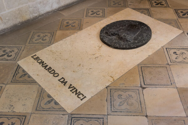 Tombe de Léonard de Vinci à Amboise