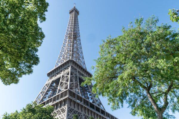 Tour Eiffel dans le 7ème arrondissement de Paris