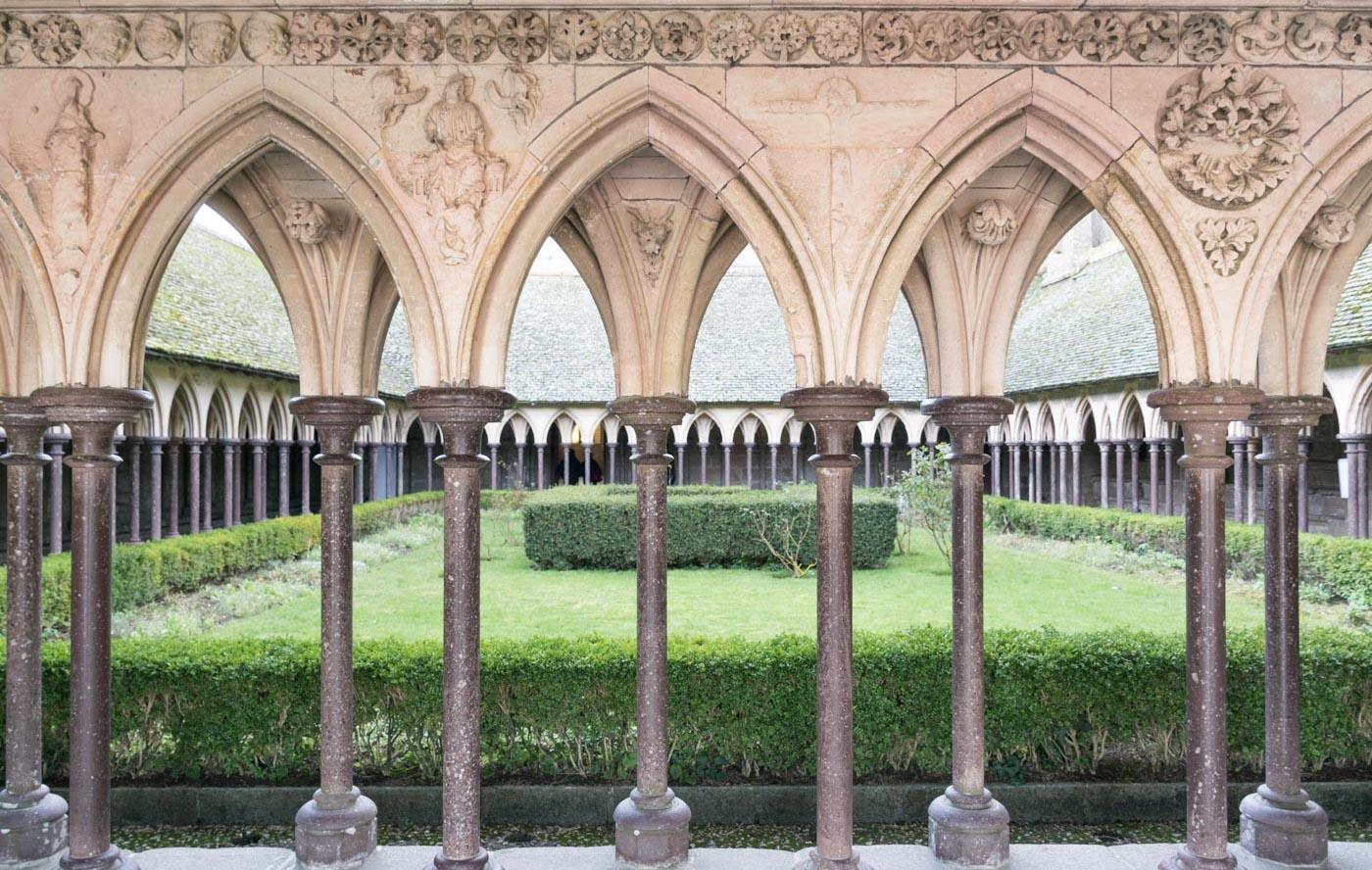 Visite de l'abbaye du Mont Saint-Michel