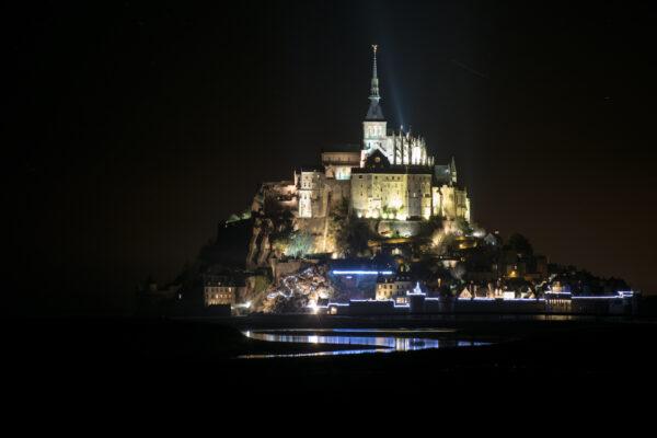 Visiter le Mont Saint-Michel de nuit