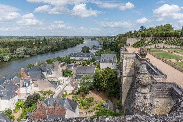 Vue depuis le château d'Amboise
