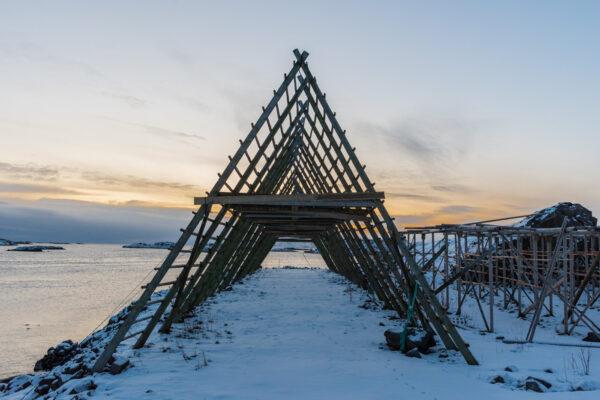 Archipel des Lofoten en Norvège