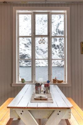 Café - restaurant à Nusfjord