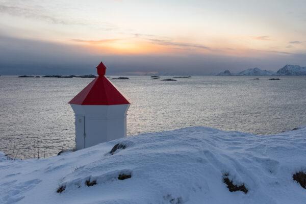 Coucher de soleil à Henningsvær