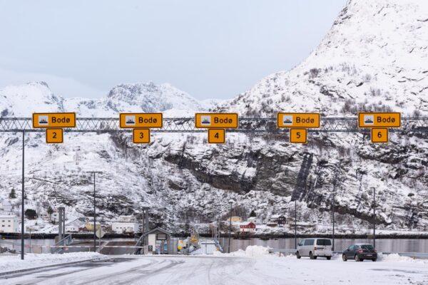 Ferry Bodø - Lofoten pour rejoindre l'aéroport