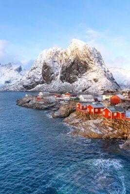 Hamnøy, villages des Lofoten