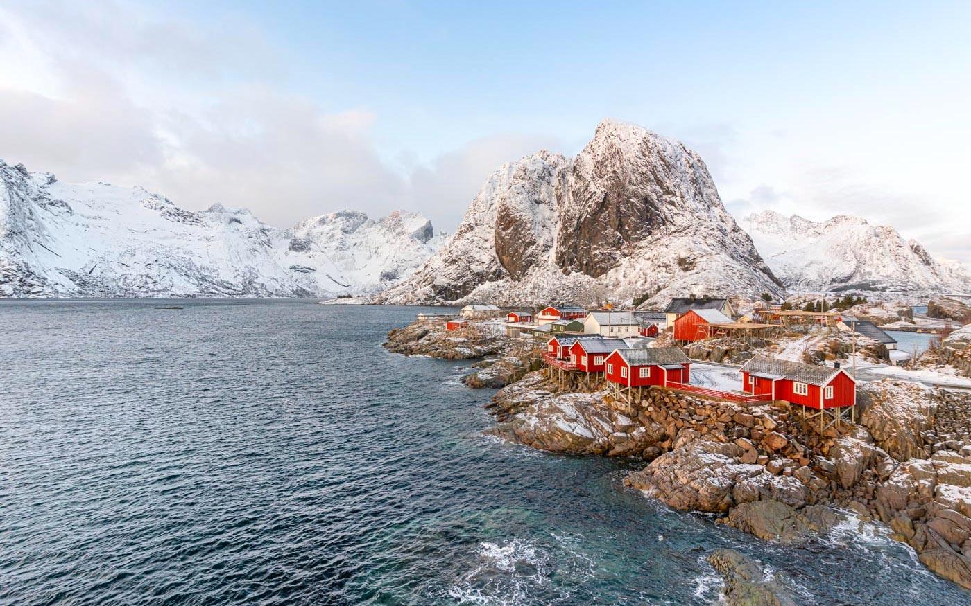 Îles Lofoten en Norvège