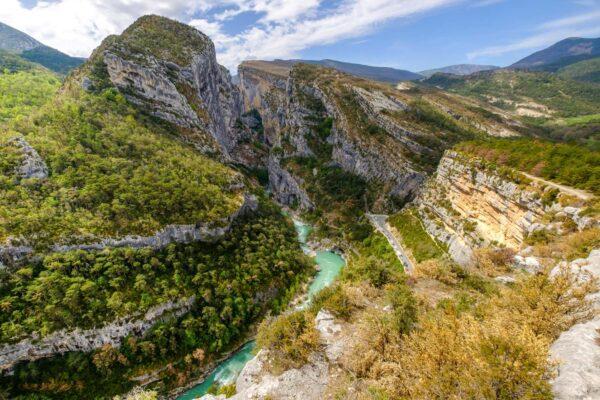 Point sublime, panorama sur les gorges du Verdon